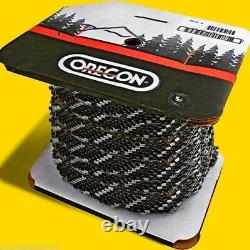 100Ft Roll Oregon Chain 90PX100U 3/8 Pitch, 043 Gauge, Fits Small Stihl Saws