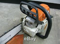 10/2017 Stihl MS271 Chainsaw 20 Bar and Chain AS-IS