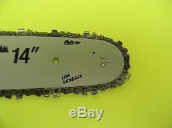 14 Bar + Chain For Stihl Chainsaw 011 012 015 017 018 019t 021 023 020t Ms200t