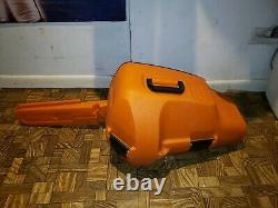 16 Stihl MS 170 Chain Saw Used once / with Cover and Carrying Case & Extras