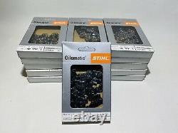 16 x Oilomatic Stihl Chain Saw 14 61PMM3 50 Chains 3/8 Pitch Wholesale Job Lot