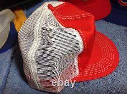 1980's STIHL chain saw half mesh KAY truckers hat