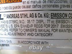2017 stihl ms 461 chainsaw 36 bar and chain
