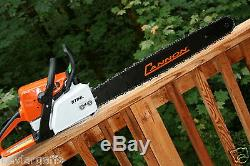 24 inch PILTZ Conversion Stihl MS250 CHAINSAW HOT SAW Full Chisel 3/8 Chain