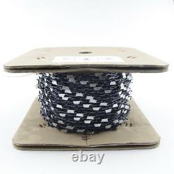 25FT Roll Full Chisel Saw Chain. 3/8''. 063'' For Stihl Dolmar Echo McCulloch