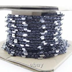 25FT Roll Saw Chain. 325 Pitch. 058 Gauge Compatible With Carlton Stihl Chainsaw