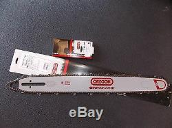25 Oregon 253RNFE031 chainsaw bar & chain fits Stihl 050 051 075 076 084 088