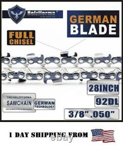 28 3/8.050 92DL Guide Bar Saw Chain For Stihl MS660 MS661 MS440 MS880 Chainsaw