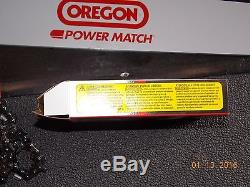 28 Oregon 280RNDD025 chainsaw guide bar & chain combo for MS 390 391 460 441 +
