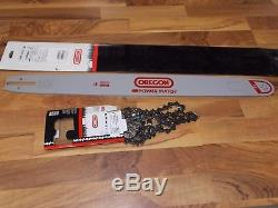 28 Oregon 283RNDD025 chainsaw guide bar chain combo fits Stihl 044 066 660 661