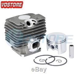 52mm Cylinder Piston Ring Assembly Kit for Stihl MS380 038 Chainsaw 1119 020 120