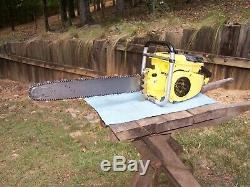 790 mcculloch chainsaw nice, with parts, 797 sp 125 101 b stihl 090 088 vintage