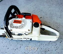 Amazing Collectors Piece! Stihl 034 AV SUPER Professional Forestry Chainsaw
