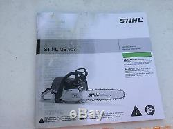 BRAND NEW IN BOX HEAVY DUTY STIHL MS362 / 362C Chainsaw MS 362 (GET IT HERE)