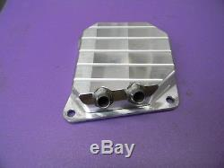 Billet Aluminum Dual Port Muffler Cover For Stihl Chainsaw 044 046 Ms440 Ms460