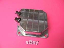 Billet Aluminum Dual Port Muffler Cover For Stihl Chainsaw Ms461