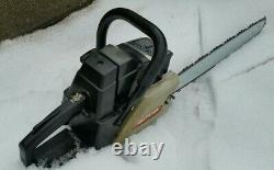 CRAFTSMAN 3.0 FIREWOOD SAW runs great with 20 bar and. 325 stihl 23rs chain