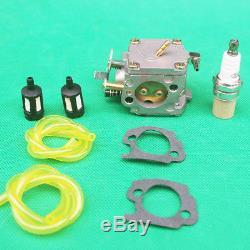 Carburetor spark plug fuel filter kit For Stihl 041 041AV Farm Boss Gas Chainsaw