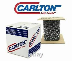 Cartton 100 Ft Roll Full Chisel Chain, 063 Gauge, Great for Large Stihl Saws