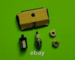 Chain Saw Maintenance Tune-up Kit fits Stihl MS192T MS192TC air & fuel filter