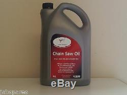 Chain Saw Oil 5Ltrs Suits Husqvarna, McCulloch, Stihl etc