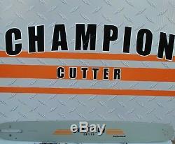 Champion Cutter Bar for Stihl saws 20 3/8.050 72dl 3/8.050 72