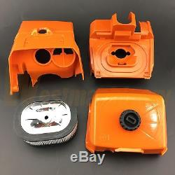 Complete Parts For Stihl MS440 044 Chainsaw Muffler Flywheel Hand Guard Clutch