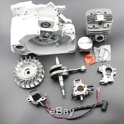 Complete Parts For Stihl MS660 066 Chainsaw Crankcase Gas Fuel Tank Engine Motor