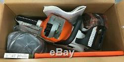 Cordless STIHL 12 CHAINSAW Chain Saw MSA 140 C withBlade Cover, Battery & Charger