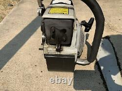 Echo QV-8000 Vent Saw With Bar And Carbide Chain. Runs Great. 80cc