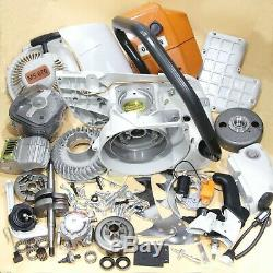 FARMERTEC Complete Repair Kit Crankcase Fuel Tank For Stihl 070 090 Chainsaw