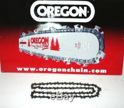 Genuine Stihl 25 Guide Bar & Oregon Ripping Chain fits STIHL Chainsaws on list