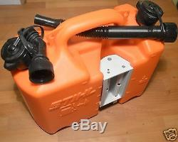 Genuine Stihl Chainsaw Fuel Oil Canister Orange Can Standard Spouts 0113 Tracked