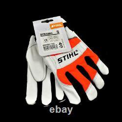 Genuine Stihl Dynamic Chainsaw Gloves Small Size Forestry Chain Saw Arborist