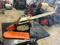 Good used Stihl MS290 chain saw