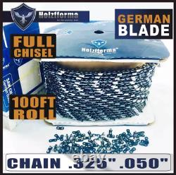 Holzfforma 100FT Roll. 325.050 Saw Chain Compatible With Stihl Husqvarna New