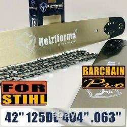 Holzfforma 42.404.063 125DL Guide Bar Saw Chain Compatible With Stihl 090