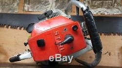 Huge Stihl 090 Chainsaw Full Wrap Handlebar Powerhead Only 070 Clutch Starter CV