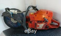 Husqvarna 371K Petrol Disc Cutter Stihl Saw. Spares Or Repair. Free Postage