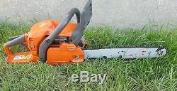 Husqvarna 435 Petrol Chainsaw 14. Good Working Order. Free Postage