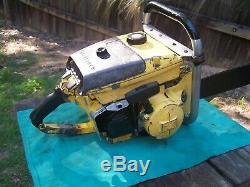 Mcculloch chainsaw 1 76 d44 044 magnum sp125 stihl vintage 101b kart motor