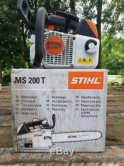 Ms200t stihl chain saw