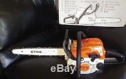 Ms 170 stihl chainsaw new