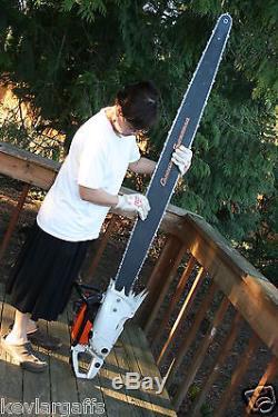NEW Cannon Stihl Superbar 84 inch chainsaw bar 404 pitch. 063 gauge 7 Feet long