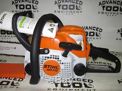 NEW Stihl MS170 Gas Commercial Grade Chain Saw Chainsaw 16 Rollomatic Bar