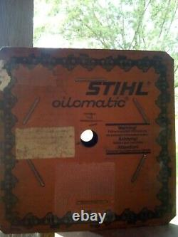 NOS Stihl 25FT Roll CHAINSAW CHAIN SAW 1/4 Pitch. 050 Oil Matic Chain NOS Roll