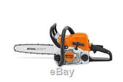 New Chainsaw STIHL MS 180 STIHL Guide Bar 14 35cm STIHL Chain 3/8 1.3mm 50 DL