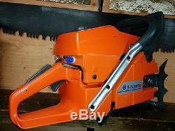 New Husqvarna 3120xp 3120 42 Bar 3/8 Ths Milling Chain Chainsaw Stihl 090 Ms880