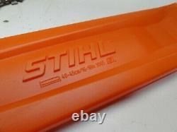 New OEM STIHL 18 Bar Chain Cover Scabbard Saw 3005 810 4717, 0000 792 9173