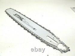 New OEM STIHL Chainsaw Saw 20 Bar & Chain #3003 000 8822